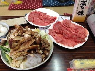魚松 信楽店のすき焼き御膳